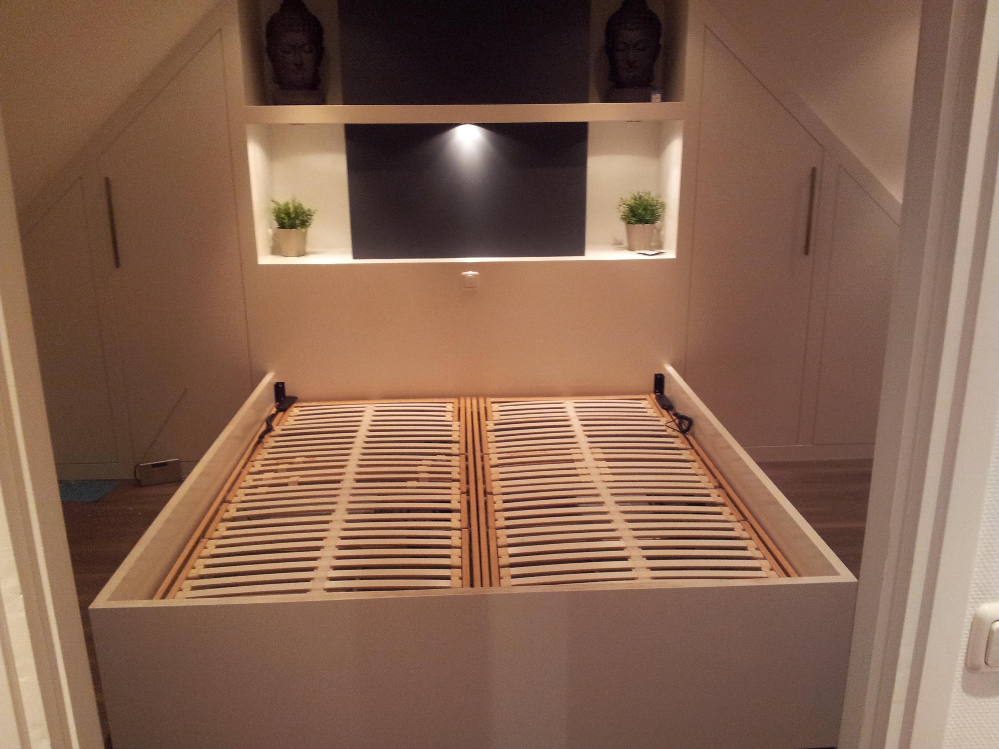 project slaapkamer op maat - KlusBedrijf Bennaars